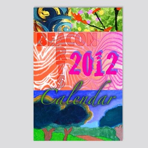 BeacArtsCalendar2012front Postcards (Package of 8)
