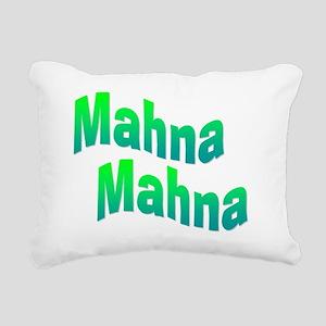 mahnamahna Rectangular Canvas Pillow