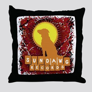 Sundawg Scribbles 2 Throw Pillow