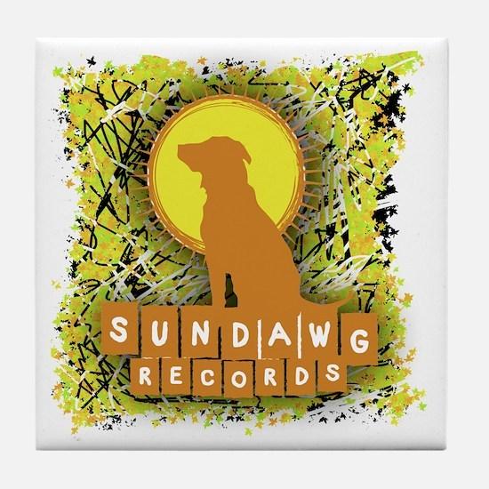 Sundawg Scribbles 1 Tile Coaster