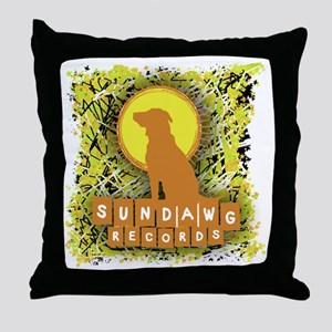 Sundawg Scribbles 1 Throw Pillow