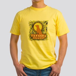 Sundawg Scribbles 1 Yellow T-Shirt