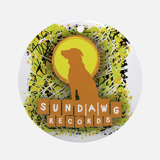 Sundawg Scribbles 1 Round Ornament
