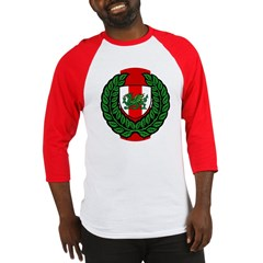 Midrealm Laurel Shield Baseball Jersey