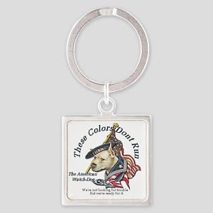 watchdog Square Keychain