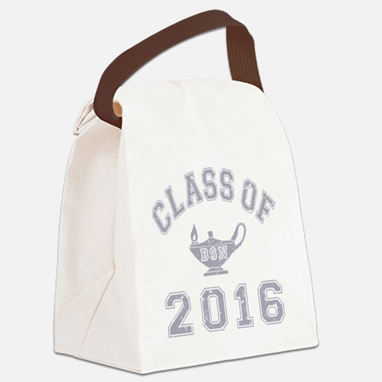 CO2016 BSN Grey Distressed Canvas Lunch Bag