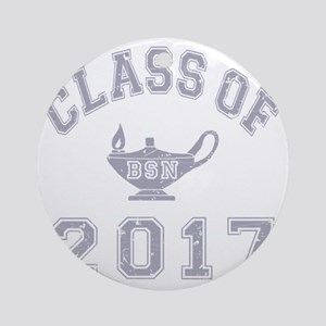 CO2017 BSN Grey Distressed Round Ornament