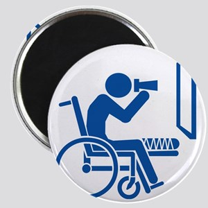 Rear Window Ethics - Blue Magnet