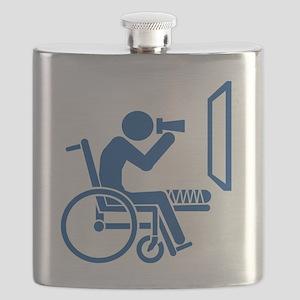 Rear Window Ethics - Blue Flask