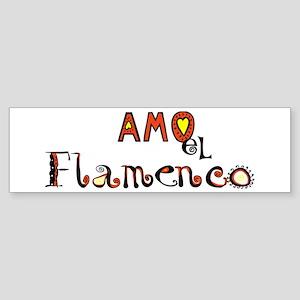 AMO el Flamenco, Bumper Sticker