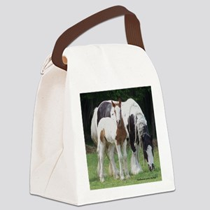 Sqaure Molly and Dreamer Canvas Lunch Bag