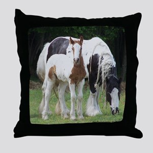 Sqaure Molly and Dreamer Throw Pillow