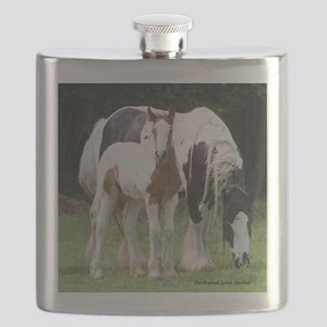 Sqaure Molly and Dreamer Flask