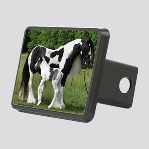 Calendar Chavali and foal Rectangular Hitch Cover