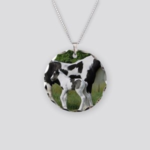 Calendar Chavali and foal Necklace Circle Charm