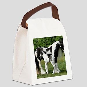 Calendar Chavali and foal Canvas Lunch Bag