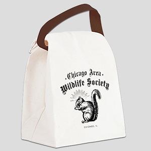 CAWSsquirrel Canvas Lunch Bag