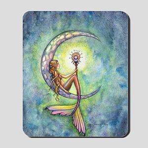 mermaid moon 9 x 12 cp Mousepad