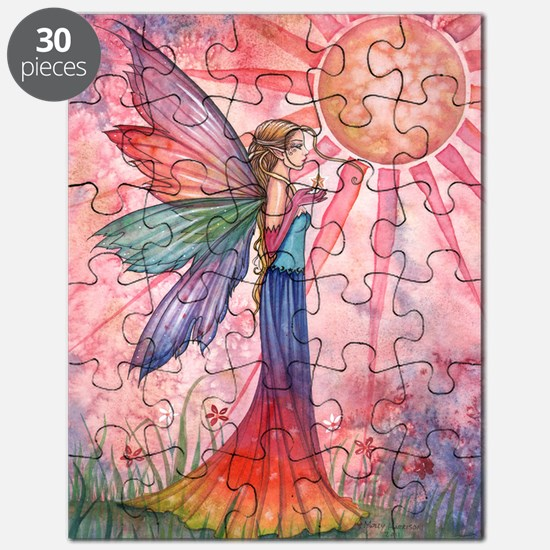 sunshine and rainbow 9 x 12 cp Puzzle
