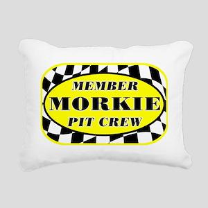 morkiepitcrew_black Rectangular Canvas Pillow