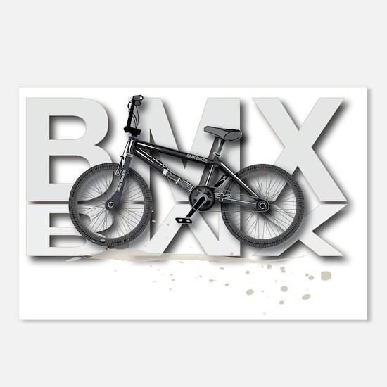 BMX Bike Design Postcards (Package of 8)