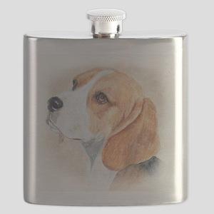 Beagle Flask