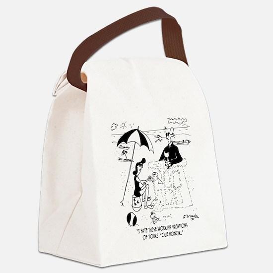 7454_law_cartoon Canvas Lunch Bag