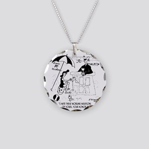 7454_law_cartoon Necklace Circle Charm