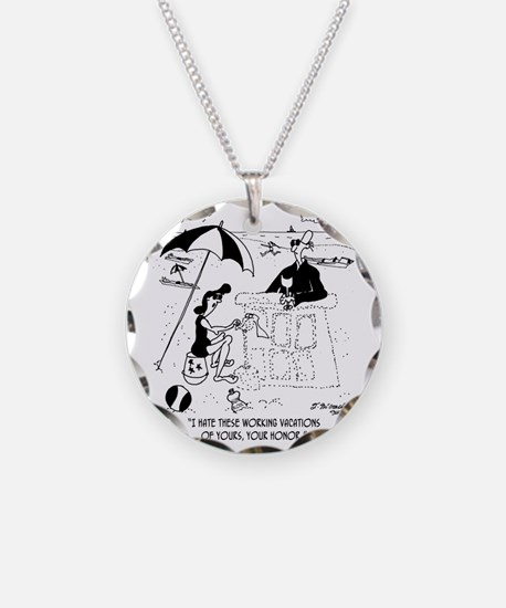 7454_law_cartoon Necklace