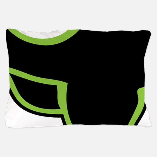 HBGMB grren Pillow Case