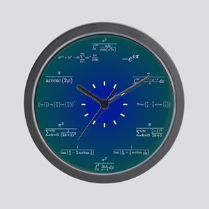 Math Clock Wall Clock