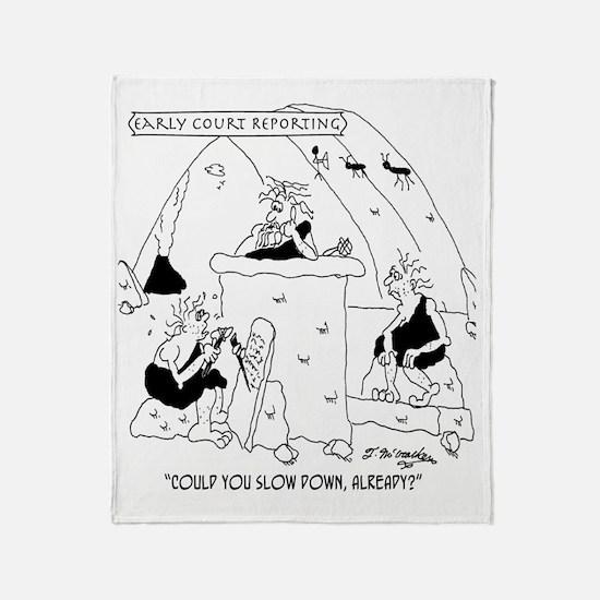 5108_law_cartoon Throw Blanket