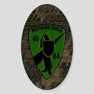 Northern Shield Unit Oval Sticker