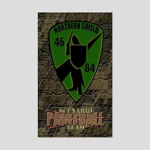 Northern Shield Unit Rectangle Sticker