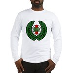 Midrealm Laurel/MK badge Long Sleeve T-Shirt