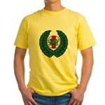 Midrealm Laurel/MK badge Yellow T-Shirt