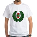 Midrealm Laurel/MK badge White T-Shirt