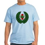 Midrealm Laurel/MK badge Light T-Shirt