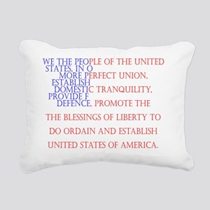 Constitution Rectangular Canvas Pillow