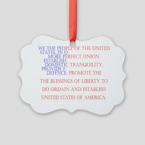 Constitution Picture Ornament