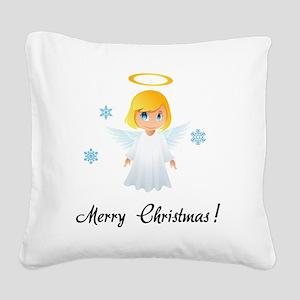 santa63 Square Canvas Pillow