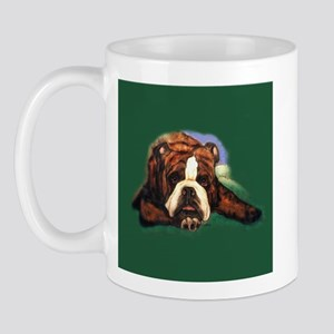 Brindle English Bulldog Mug