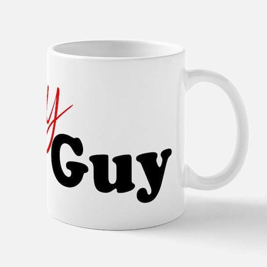 Sexy Bald Guy (black letters) Mug