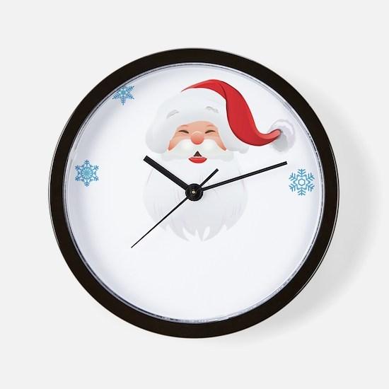 santa86 Wall Clock