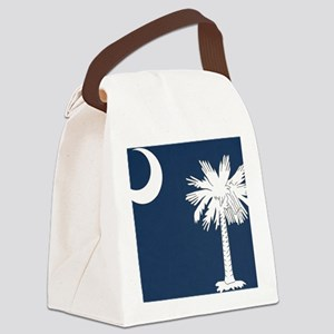 South_Carolina_state_flag Canvas Lunch Bag