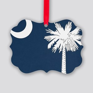 South_Carolina_state_flag Picture Ornament