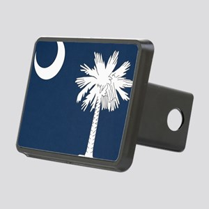 South_Carolina_state_flag Rectangular Hitch Cover
