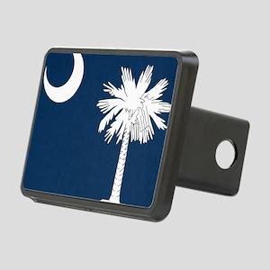 South_Carolina_state_flag Rectangular Hitch Cover