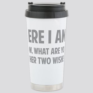 twoWishes1C Stainless Steel Travel Mug