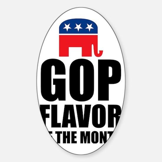 GOP flavor of Month Sticker (Oval)